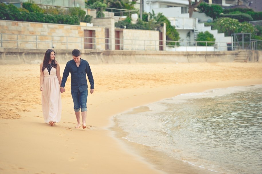 Emily-Andrew-Engagement-Photography-At-Beach